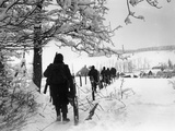 WWII Battle of the Bulge Papier Photo