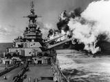 Deuxième Guerre mondiale - USS Missouri Papier Photo