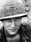 Vietnam US War is Hell Papier Photo par Horst Faas