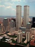 New York Landmarks Twin Towers