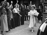 WWII London Queen Elizabeth