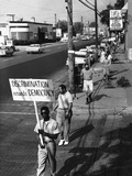 Civil Rights Demonstrations 1961