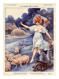La Vie Parisienne, Maurice Milliere, 1919, France Giclée