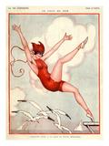 La Vie Parisienne  Vald'es  1924  France
