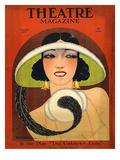 Theatre Magazine, 1924, USA Giclée