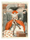 La Vie Parisienne, Julien Jacques Leclerc, 1920, France Giclée