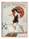 La vie Parisienne, Leo Fontan, 1923, France Giclée