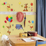 Winnie the Pooh - Pooh & Friends Peel & Stick Wall Decals