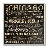 Chicago Landmarks Typography