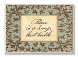 Peace is a Long Bath