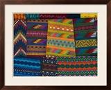 Textiles  Santiago Atitlan  Lake Atitlan  Guatemala  Central America