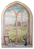 St Andrew's Gold Course Window