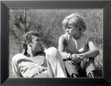 Johnny Hallyday et Sylvie Vartan, 6 Juin 1963 Photo encadrée par Luc Fournol