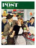 """More Money, Honey"" Saturday Evening Post Cover, July 21, 1951 Giclée par George Hughes"