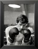 Jean-Paul Belmondo, 21 Juin 1960 Photo encadrée par Luc Fournol