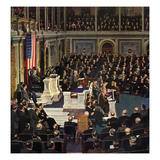 """Joint Session of Congress""  January 7  1950"