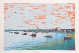Anchored Flotilla Days Gone By