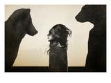 Unusual Encounter Reproduction d'art par Ruben Ireland