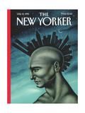 The New Yorker Cover - July 10  1995