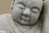 Sleeping stone sculpture figure Taiwan