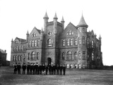 Oklahoma State University - Library and Biology in 1904