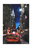 New York - Chrysler Building Street Scene