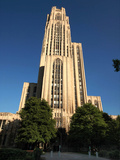 University of Pittsburgh - Cathedral of Learning on a Clear Day
