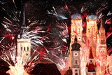 Fireworks in Munich