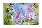 Advice from a Caterpillar Reproduction d'art par Zelda Fitzgerald