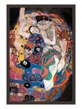 L'étreinte Reproduction d'art par Gustav Klimt