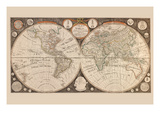 A New Map of the World : with All the New Discoveries by Capt Cook and Other Navigators