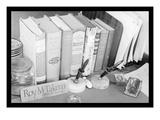Roy Takeno's Desk Reproduction d'art par Ansel Adams