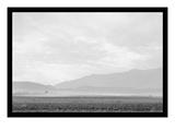 Dust Storm over the Manzanar Relocation Camp Reproduction d'art par Ansel Adams