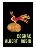 Les Cognac Albert Robin Reproduction d'art par Leonetto Cappiello