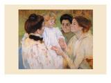Women Admiring a Child