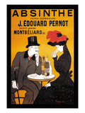 Absinthe J. Edouard Pernot Reproduction d'art par Leonetto Cappiello