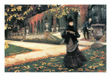The Letter Came in Handy by Tissot