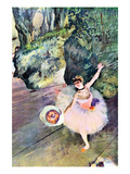 Dancer with a Bouquet of Flowers (The Star of the Ballet)