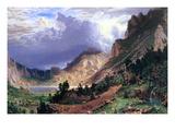 Storm in the Rockies  Mt Rosalie
