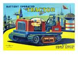 Battery Operated Tractor