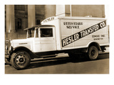 Hesler Transfer Co Delivery Truck with Refrigerator Service