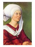 Portrait of Barbara Durer  Born Holper