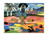 Mohana No Atua Reproduction d'art par Paul Gauguin