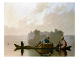 Bingham: Fur Traders  1845