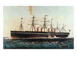 Ship: Great Eastern  1858