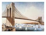 Brooklyn Bridge  NYC  1881