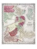 Map: Boston  1865