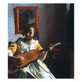Vermeer: Guitar Player
