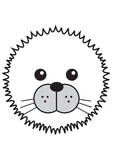 Arctic Seal Reproduction d'art