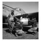 WWII: Tuskegee Airmen  1945